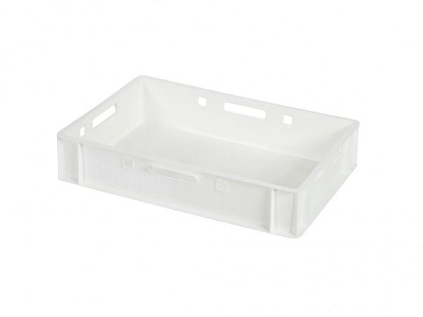 Stapelbehälter E1 - 600x400xH125mm - Weiß