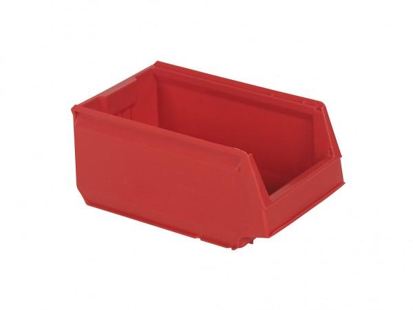 Sichtlagerkasten Kunststoff - 350x206xH150mm - Rot