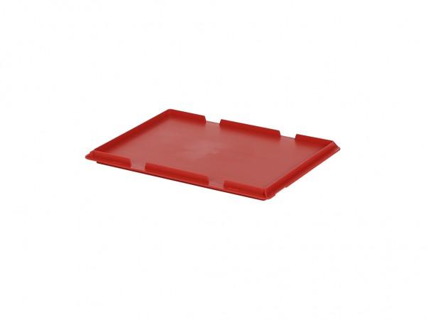 Scharnierdeckel 400x300mm - Rot