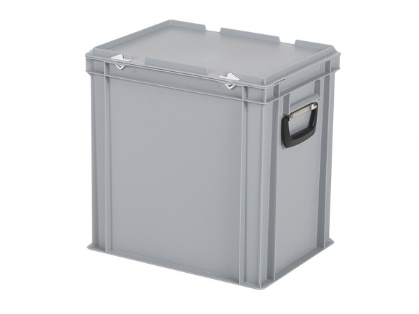 Kunststoffkoffer - 400x300xH415mm - Grau