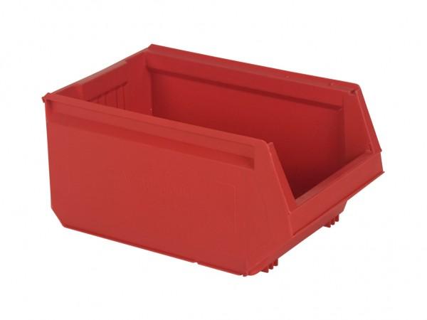 Sichtlagerkasten Kunststoff - 500x310xH250mm - Rot