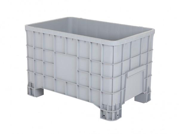 Palettenbox - 1000x635mm - 4 Füße - Grau