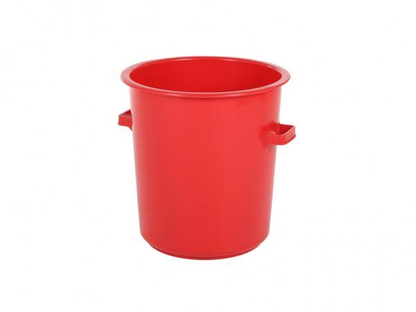 Tonne aus Kunststoff 75 Liter - heavy duty - Rot
