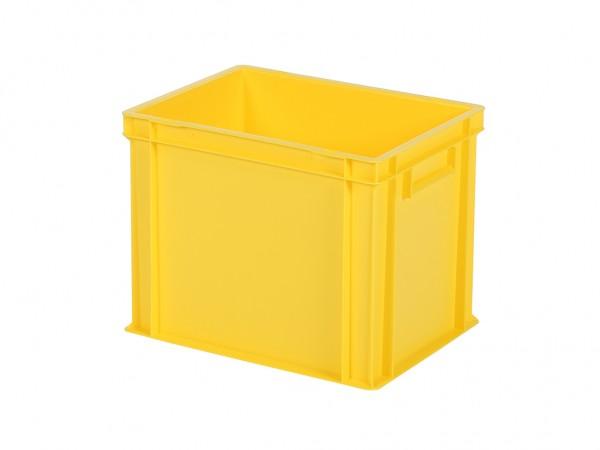 Stapelbehälter - Tellerbehälter - 400x300xH320mm - Gelb