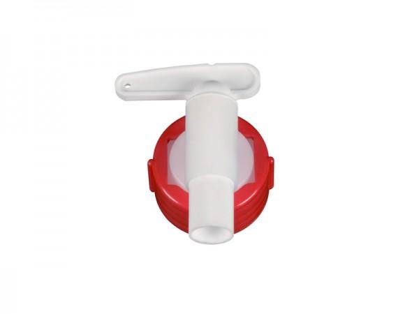 Auslaufhahn 15 mm - für Fässer mit Auslauf Ø 34 mm