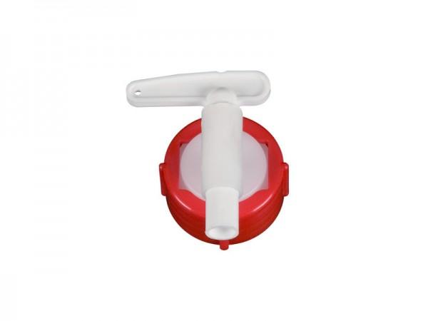 Auslaufhahn 10 mm - für Fässer mit Auslauf Ø 34 mm