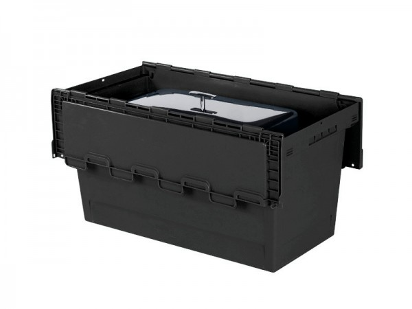 Chafing-Dish Transportbehälter BLACK LINE - 800x400xH440mm - Schwarz