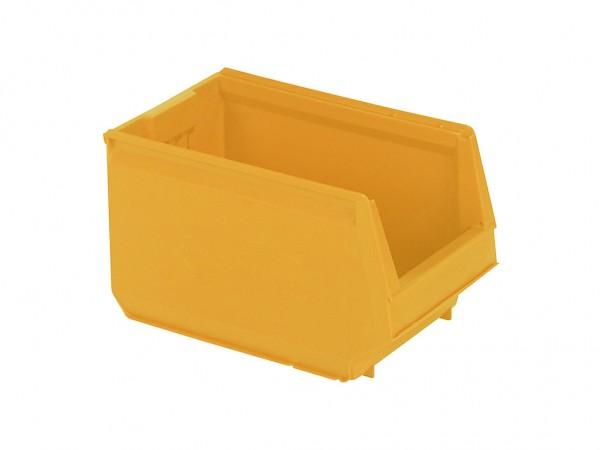 Sichtlagerkasten Kunststoff - 350x206xH200mm - Gelb