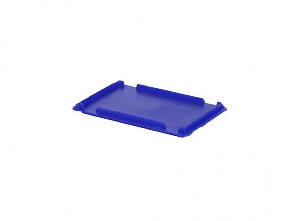 Scharnierdeckel 300x200mm - Blau