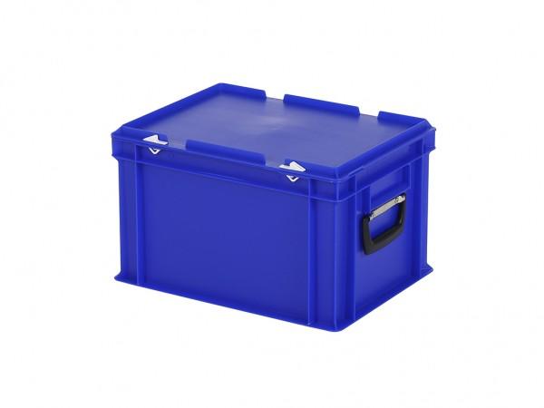 Kunststoffkoffer - 400x300xH250mm - Blau