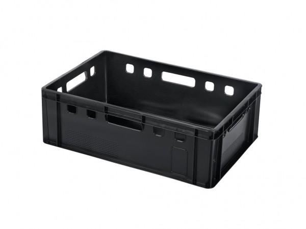Stapelbehälter E2 - 600x400xH200mm - Schwarz