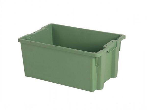 Stapel-nestbarer Behälter - 600x400xH270mm - Grün