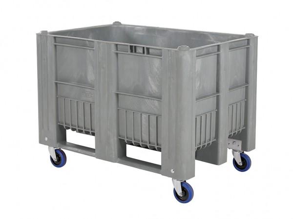 CB1 Palettenbox - 1200x800mm - auf Rollen - Grau