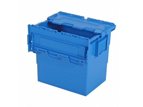 Distributionsbehälter Mehrwegbehälter 400x300xH365 Blau