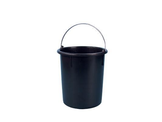 Eimer aus Kunststoff 30 Liter - heavy duty - Schwarz