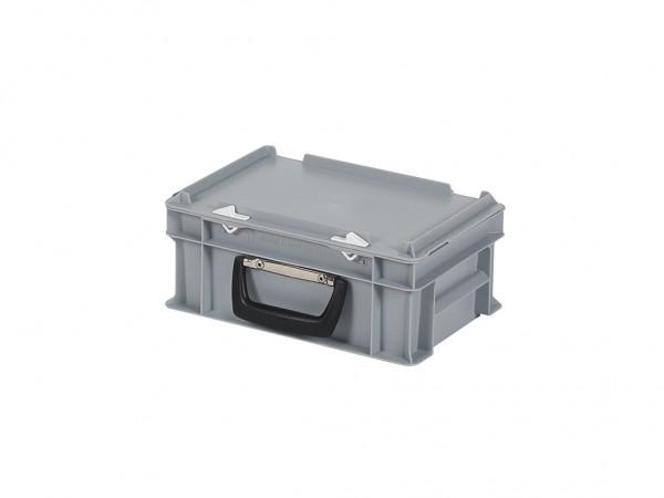 Kunststoffkoffer - 300x200xH133mm - Grau