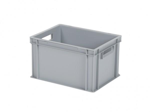 Stapelbehälter - Tellerbehälter - 400x300xH236mm - Grau