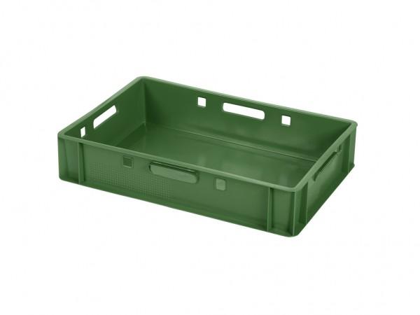 Stapelbehälter E1 - 600x400xH125mm - Grün