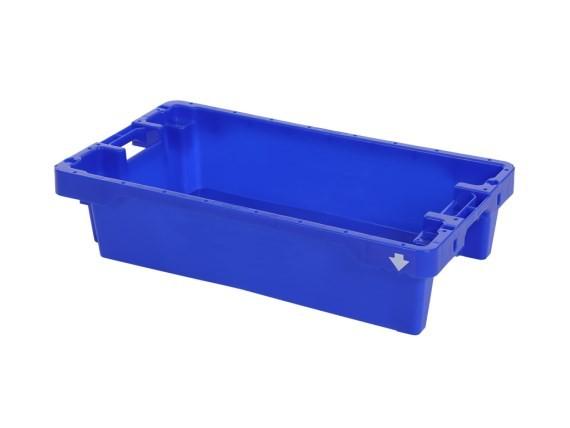 Fischkasten - 800x450xH190mm - 20kg - 35l - Blau