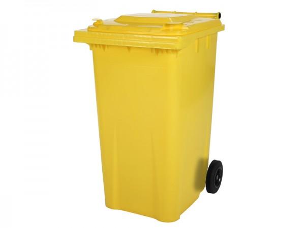 Mülltonne - 240 Liter - Gelb