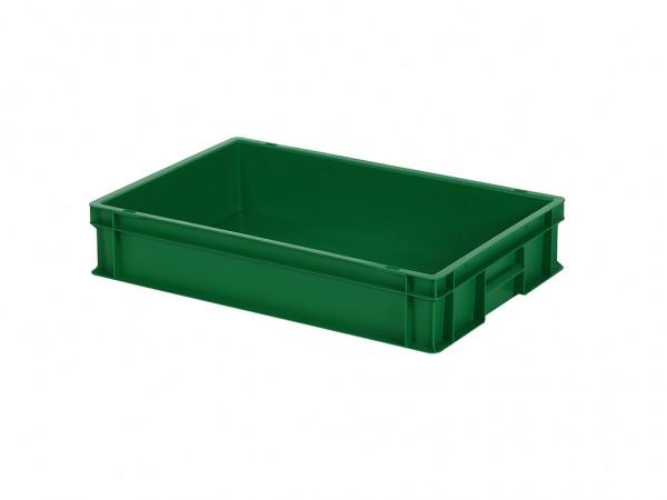 Stapelbehälter - 600x400xH120mm - Grün
