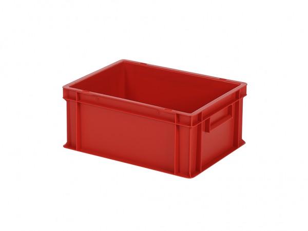 Stapelbehälter - Tellerbehälter - 400x300xH175mm - Rot