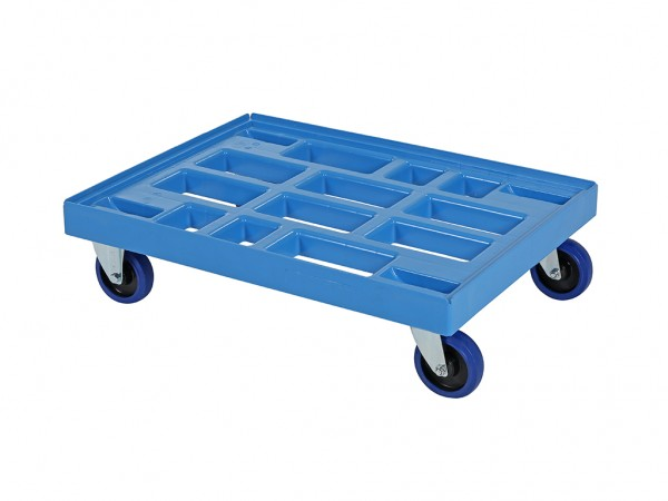Transportroller - Rollwagen - Blau - 800x600mm
