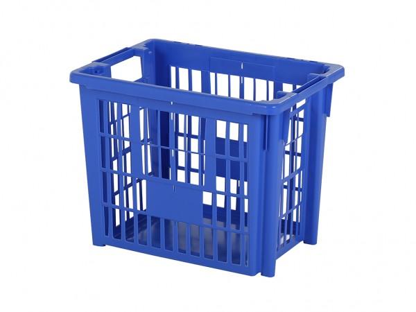 SALE - Abfallsammler - stapel-nestbarer Behälter - 482x340xH384mm - Blau
