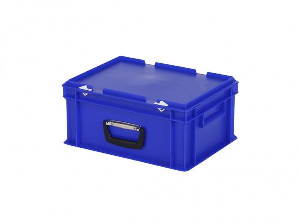 Kunststoffkoffer - 400x300xH190mm - Blau