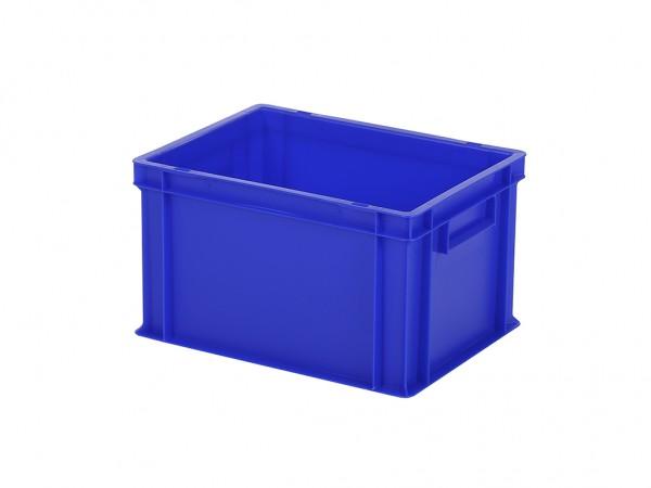 Stapelbehälter - Tellerbehälter - 400x300xH236mm - Blau