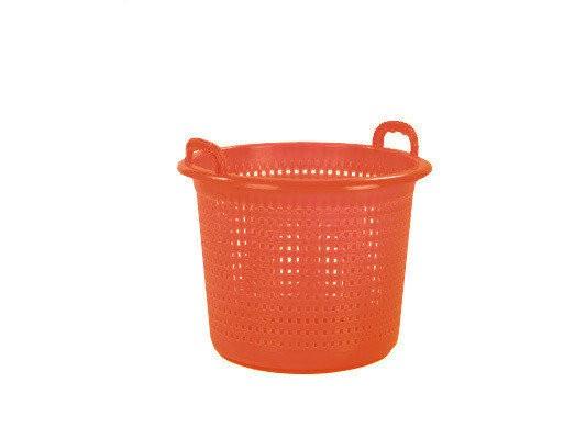 Industriekorb - Waschkorb 45 Liter - Orange
