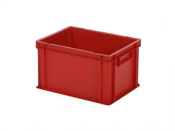 Stapelbehälter - Tellerbehälter - 400x300xH236 - Rot