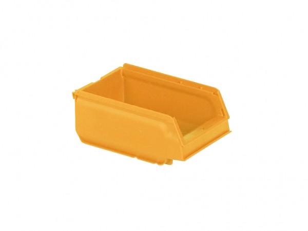 Sichtlagerkasten Kunststoff - 170x105xH75mm - Gelb