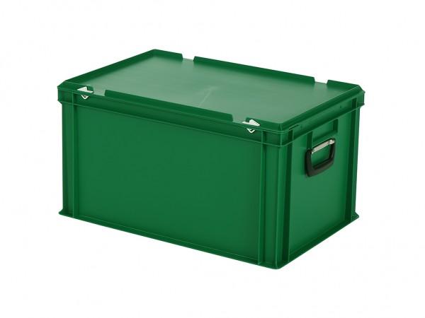 Kunststoffkoffer - 600x400xH335mm - Grün