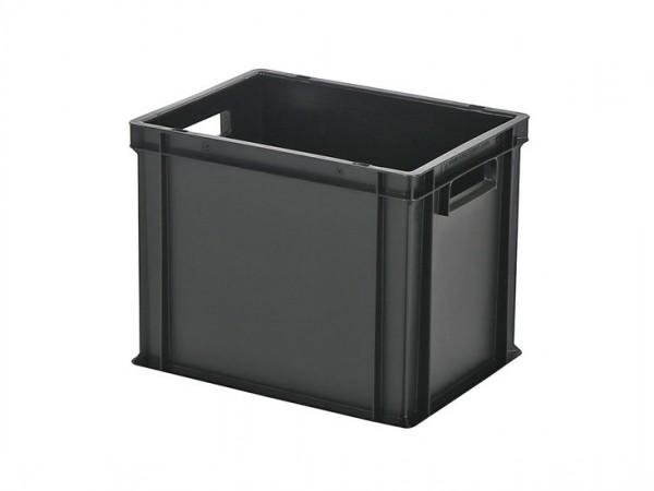 Stapelbehälter - Tellerbehälter - 400x300xH320mm - Schwarz
