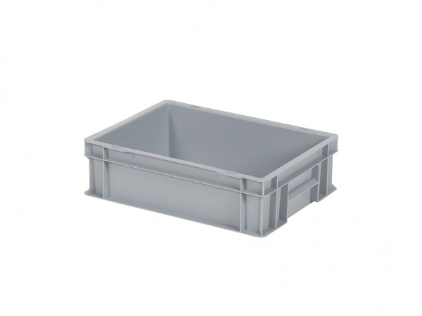 Stapelbehälter - 400x300xH120mm - Grau