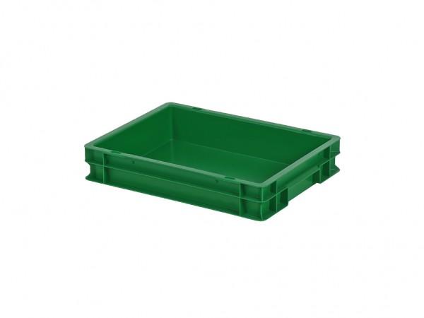 Stapelbehälter - 400x300xH75mm - Grün