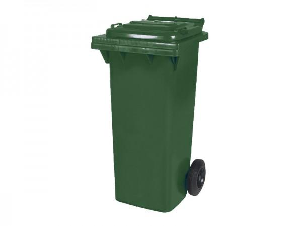 Mülltonne 80 Liter - Grün - 2 Räder - Wertstofftonne - Müllgroßbehälter