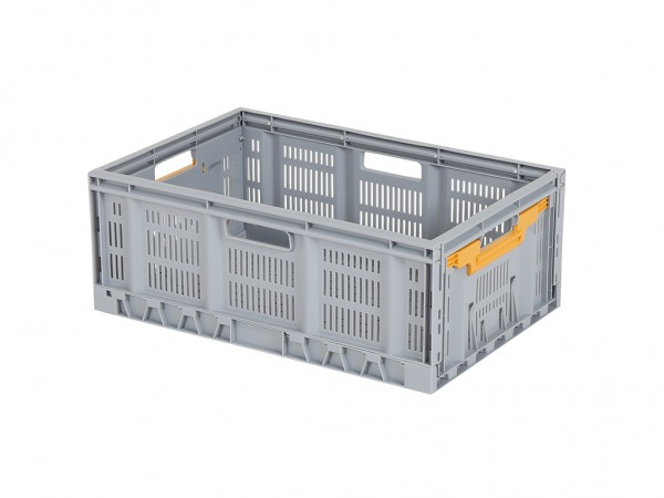 FRESH BOX Faltbehälter - 600x400xH233 mm - Grau
