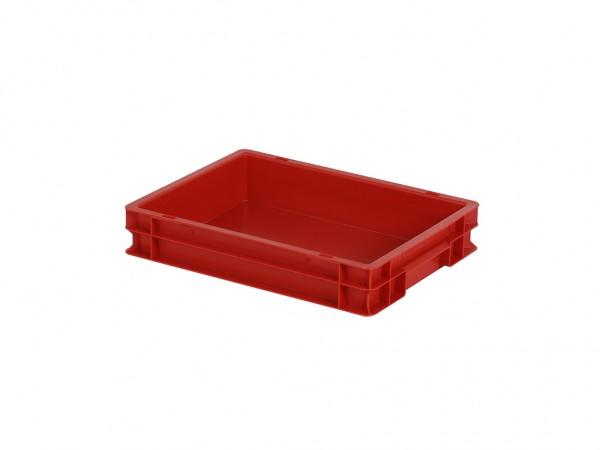 Stapelbehälter - 400x300xH75mm - Rot