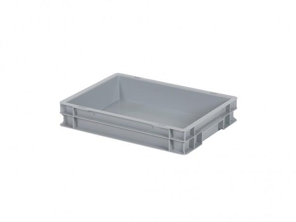 Stapelbehälter - 400x300xH75mm - Grau