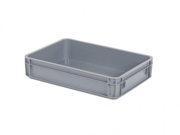 SALE - Stapelbehälter - 580x400xH125mm - Grau