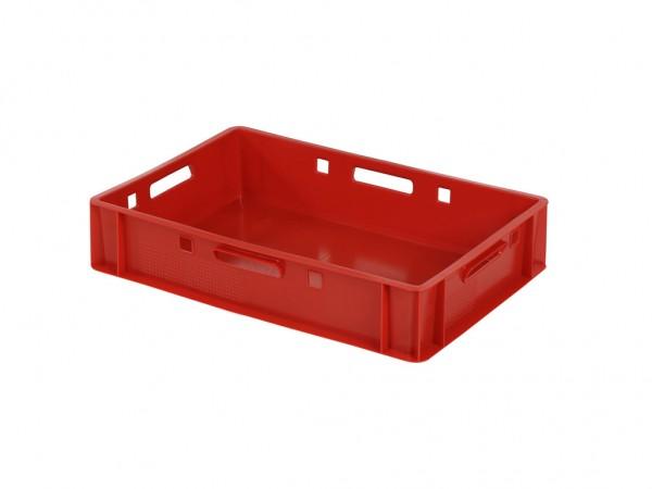 Stapelbehälter E1 - 600x400xH125mm - Rot