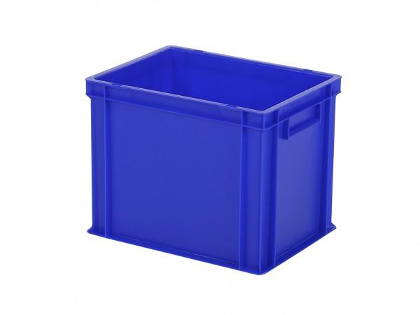 Stapelbehälter - Tellerbehälter - 400x300xH320mm - Blau