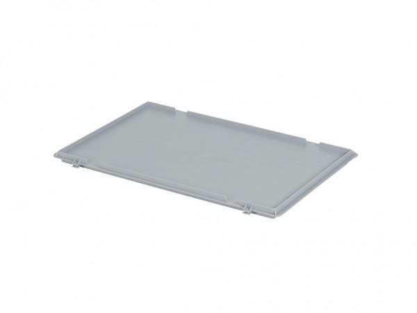 Scharnierdeckel 600x400mm - Grau