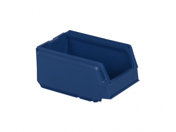 Sichtlagerkasten Kunststoff - 250x148xH130mm - Blau