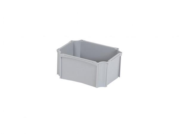 Einsatzbehälter 1/8 - LIGHT - 177x138mm - für 600x400mm Stapelbehälter