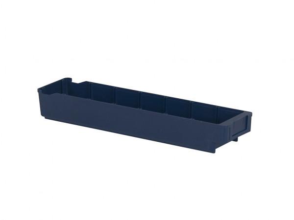 Sichtlagerkasten Kunststoff - 600x115xH100mm - Blau