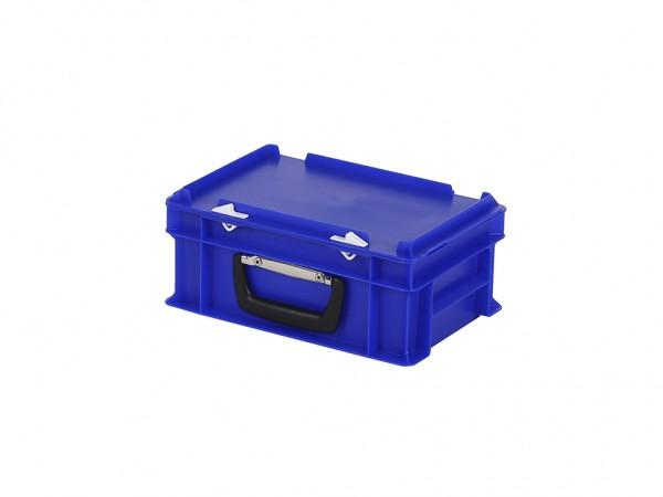 Kunststoffkoffer - 300x200xH133mm - Blau