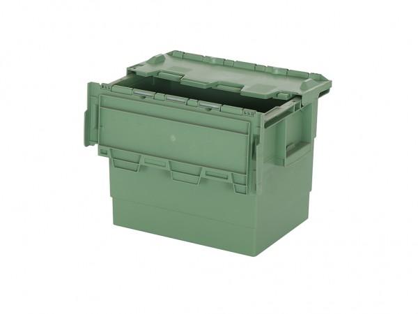SALE - Distributionsbehälter - Mehrwegbehälter - 400x300xH300mm - Grün